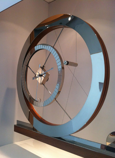 Daniel Weil Clock at the Design Museum