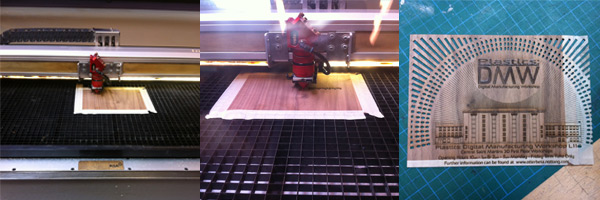 Trotec Laser cutting machine at CSM