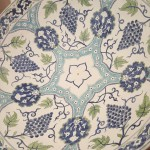 Detail from Andrew Franks' Iznik inspired bowl
